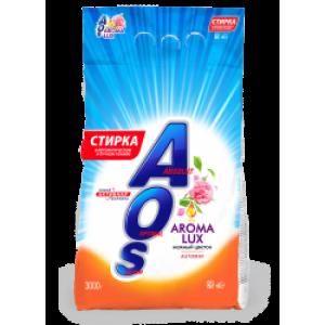 AOS AROMA LUX 3кг Стиральный порошок