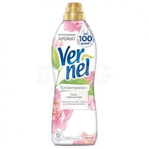 Кондиционер для белья Vernel Ароматерапия+ Пион и белый чай (910 мл)