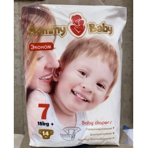 Mommy Baby 7 (18+кг) 14 шт