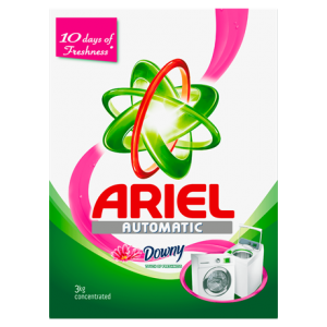 Ariel Automatic Washing Powder Laundry Detergent Touch of Freshness Downy Original 3kg (ОАЭ)