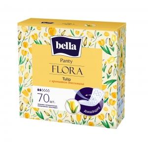 Bella panty flora ежедневки с экстрактом тюльпана, 70 шт