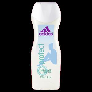 Adidas гель для душа защита с хлопковым маслом , 250 мл ( Дубай)