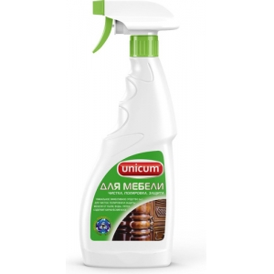 Unicum Средство для полировки и ухода за мебелью 3в1 , 500 мл