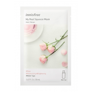 Innisfree Тканевая маска для лица с розой, 20 мл