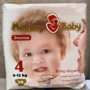 Mommy Baby 4 (8-12кг) 20 шт
