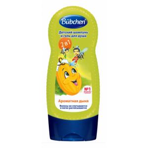"""Шампунь для мытья волос и тела """"Ароматная дыня"""""""
