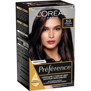 PRÉFÉRENCE  Стойкая краска для волос, оттенок 3 Бразилия.