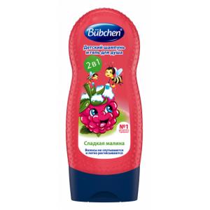 """Шампунь для мытья волос и тела """"Мишкина малина"""""""