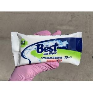 Best антибактериальные салфетки 15 шт.