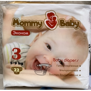 Mommy Baby 3 (5-9кг) 22 шт