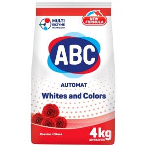 ABC Порошок Автомат Аромат Розы 4 Кг.