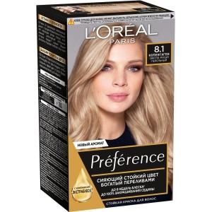 PRÉFÉRENCE  Стойкая краска для волос, оттенок 8.1 Копенгаген.