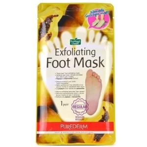 Педикюрные носочки (Маска отшелушивающая для ног) Purederm Exfoliating Foot Mask
