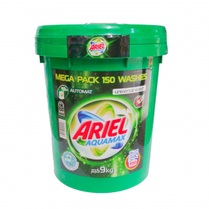 "Ariel 9кг ""Aquamax"" (ведро) (ОАЭ)"
