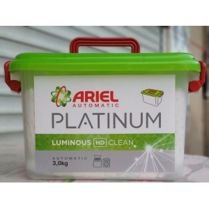 Ariel Automatic Platinum Luminous Washing Powder, 3 кг, (ОАЭ)
