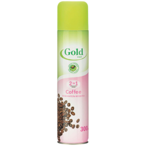 Gold wind Освежитель воздуха  2 в 1 кофе, 300 мл