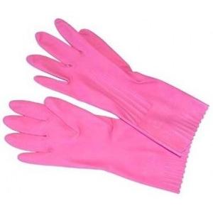 Перчатки хозяйственные с ворсовой подложкой