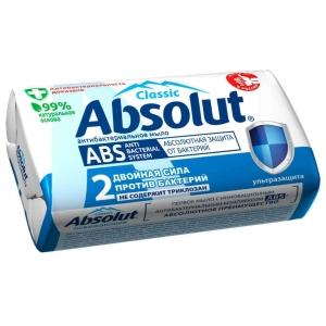 Absolut Classic Мыло туалетное антибактериальное ультразащита 90 г