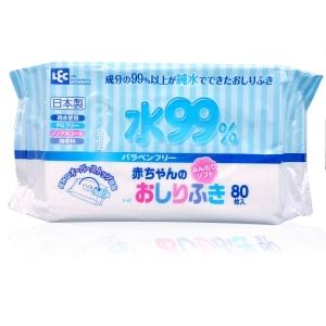 iPlUS салфетки влажные детские, мягкие, 80шт