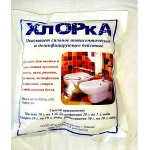 Frei Хлорка порошок для чистки и отбеливания 450 гр