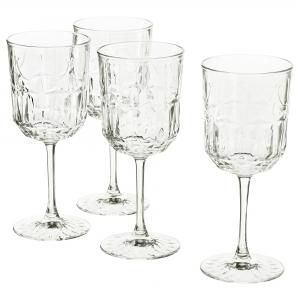 Бокал для вина, прозрачное стекло/с рисунком 27 сл СЭЛЛЬСКАПЛИГ
