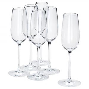 Бокал для шампанского, прозрачное стекло 22 сл СТОРСИНТ