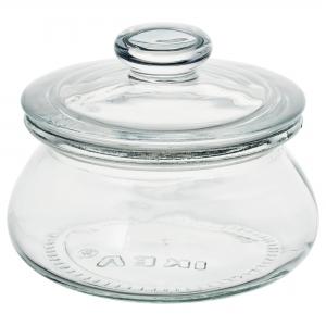 Банка с крышкой, прозрачное стекло 0.3 л  ВАРДАГЕН